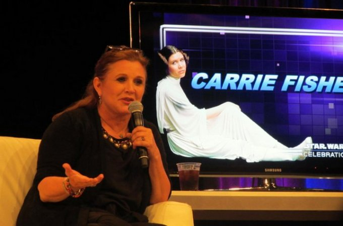 Carrie Fisher - Princesa Leia - Star Wars