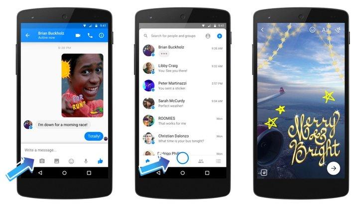 Facebook Messenger Cámara