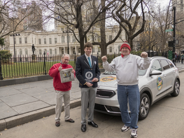 Kia Niro - World World Record