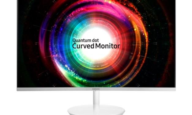 Samsung CH711, nuevo monitor Quantum Dot con pantalla curva #CES2017