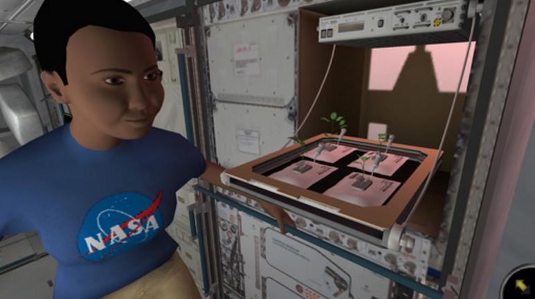 NASA lanza juego móvil donde deben hacer crecer plantas en la Estación Espacial Internacional