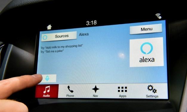 Ford SYNC 3 con Alexa para poder comprar, buscar y controlar hogar inteligente desde el automóvil