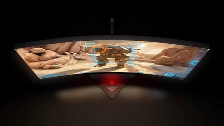 HP Omen X 35 Curved, un monitor con pantalla curva para gamers #CES2017