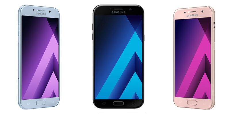 Presentan la nueva serie de smartphones Samsung Galaxy A (2017) #CES2017