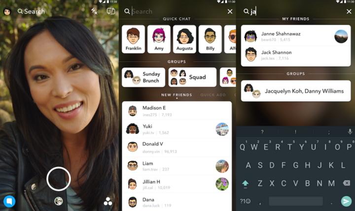 Snapchat - Buscador Universal
