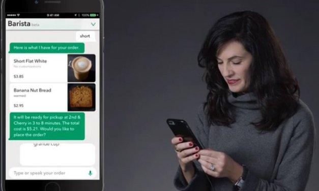 Starbucks introduce My Starbucks Barista, un bot en su app para hacer pedidos y además lanza habilidad para Amazon Alexa
