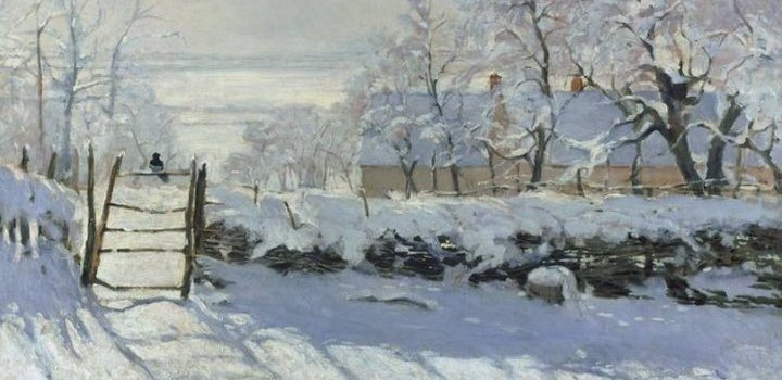 Claude Monet - The MagPie - Artpip