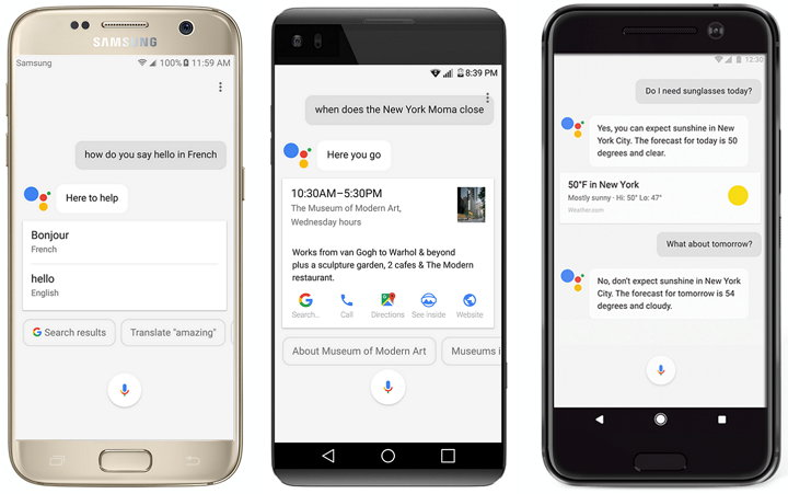 Asistente de Google en Android Phones