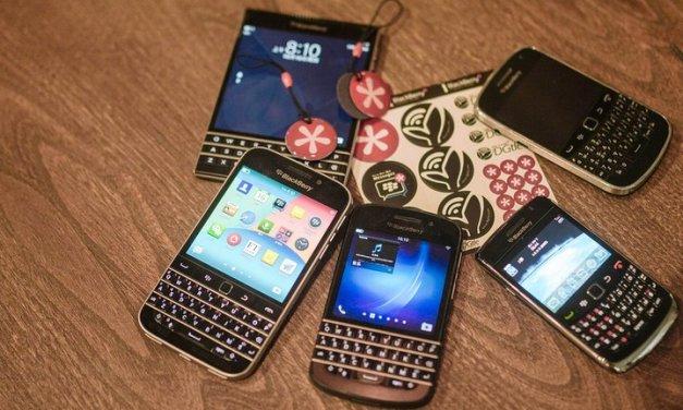 Cuota de mercado global de Blackberry en venta de smartphones por S.O. oficialmente llega a Cero