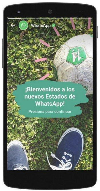 Estados de WhatsApp - Usuarios Activos Diarios