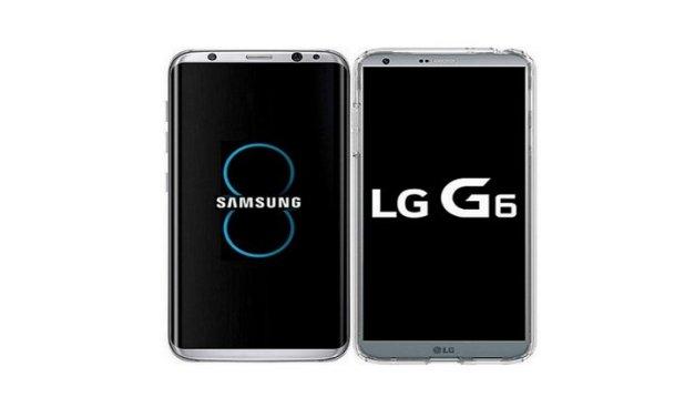 Estas son las fechas en que LG y Samsung comenzarán a vender el G6 y el Galaxy S8