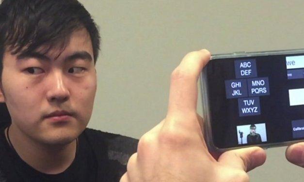 Microsoft desarrolla GazeSpeak, nueva aplicación para personas con ELA (Esclerosis Lateral Amiotrófica)