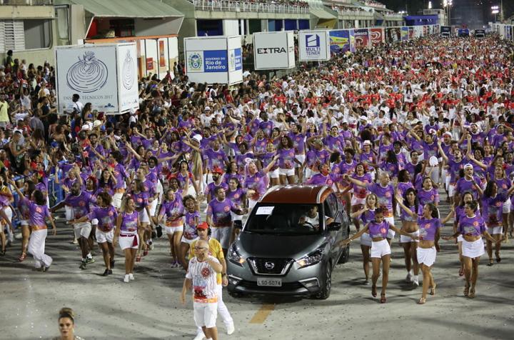 Nissan Kicks - Escuela de Samba Salgueiro - Rio de Janeiro
