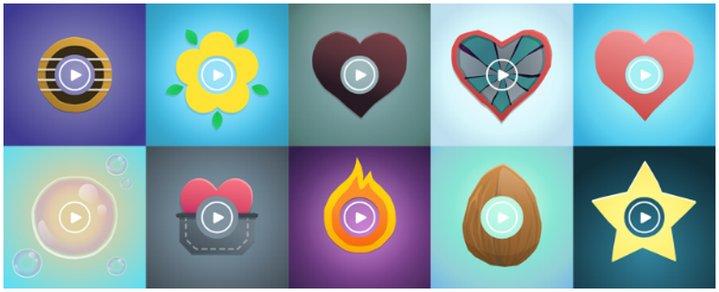 Skype - Mojis -Día de los Enamorados