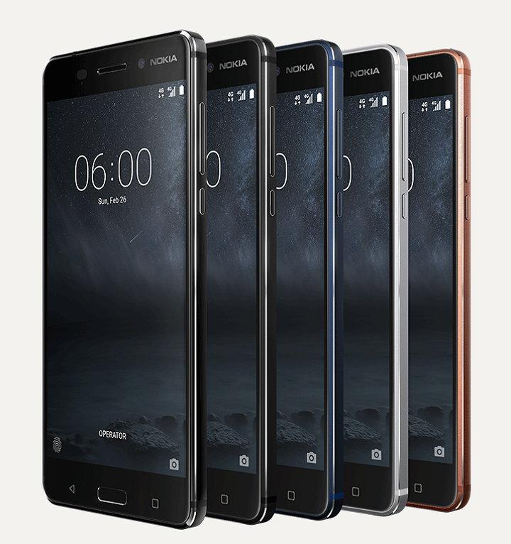 Smartphones Nokia 6