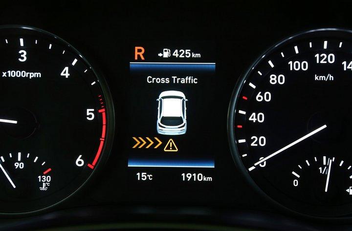 Hyundao i30 - Alerta de Tráfico Trasero