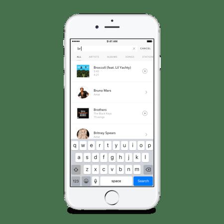 Pandora Premium Search