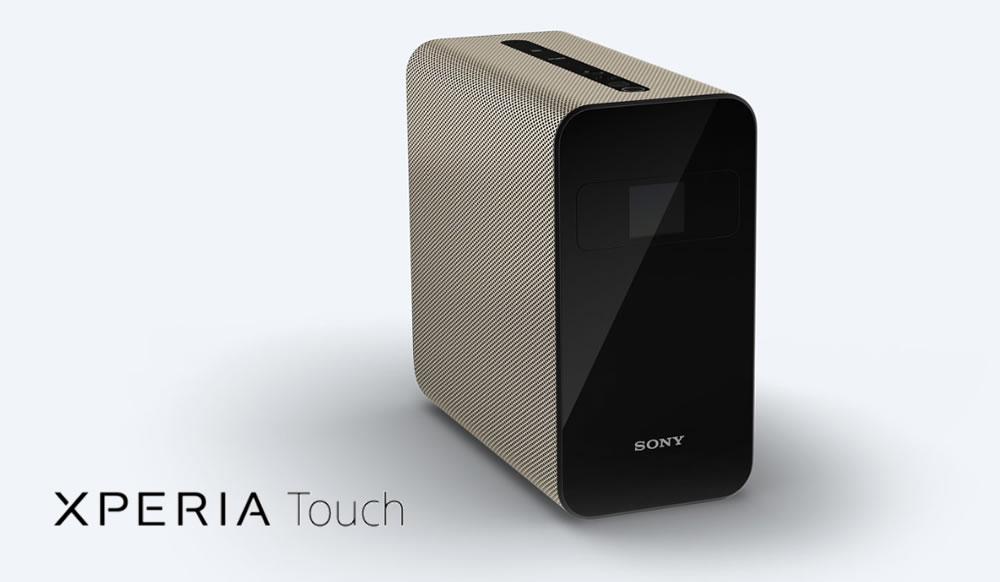 Sony Xperia Touch: proyector que transforma una pared o mesa en pantalla táctil interactiva