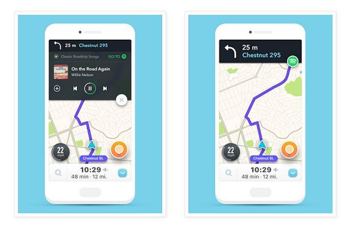 Spotify y Waze se integran, ahora puede acceder a los dos servicios desde cualquiera de las dos aplicaciones