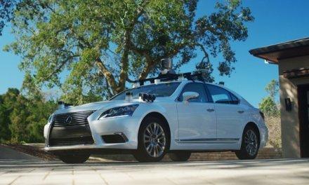 Este es el nuevo vehículo autónomo de pruebas del Toyota Research Institute
