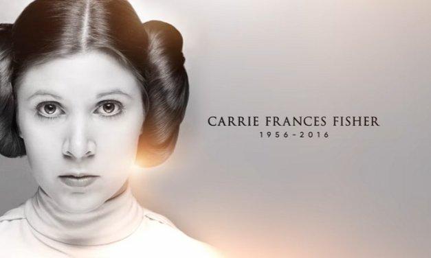 Este es el vídeo tributo a Carrie Fisher presentado hoy en Star Wars Celebration