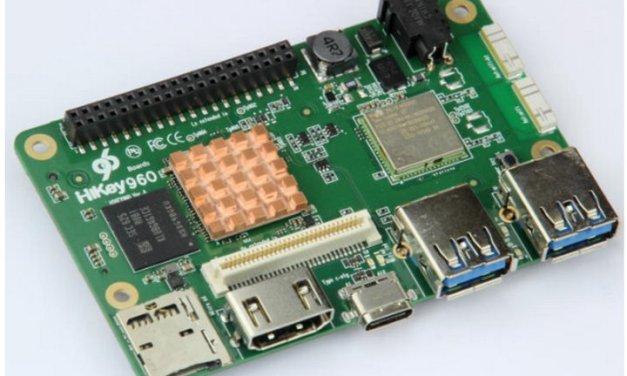 Huawei HiKey 960 es un micro ordenador tipo Raspberry Pi, desarrollado en conjunto con Google y otros