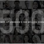 LinkedIn anunció haber llegado a los 500 millones de usuarios registrados y ofrece varios datos muy interesantes