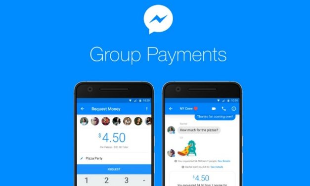 Facebook Messenger ahora permite hacer pagos de dinero en grupos