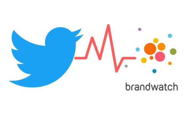 Brandwatch elegido por Twitter como socio único de inteligencia social y visualización de datos
