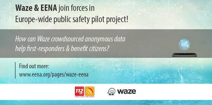 Waze - EENA - Servicios de Emergencia