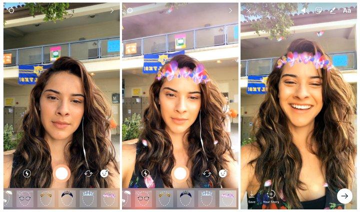 Instagram - Filtros para Selfies