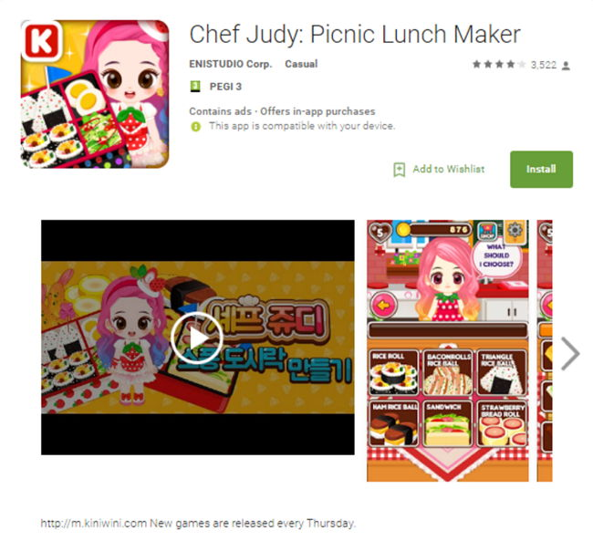 Android Malware Judy