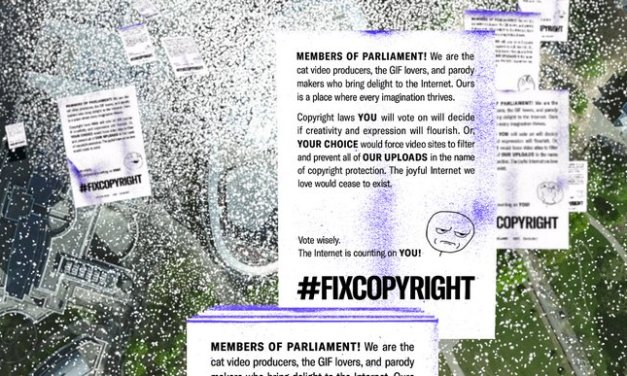 Mozilla y Moniker lanza Paperstorm para que legisladores europeos modernicen las leyes de derechos de autor
