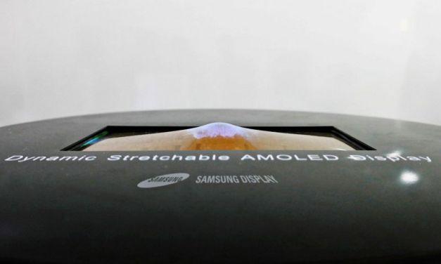 Samsung muestra en acción su prototipo de pantalla OLED elástica [Vídeo]