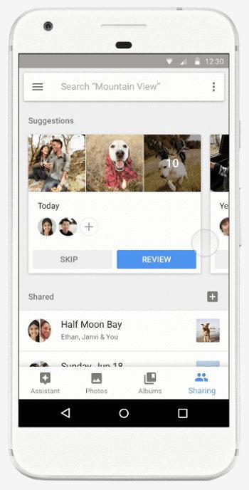 Google Fotos - Compartir Imágenes