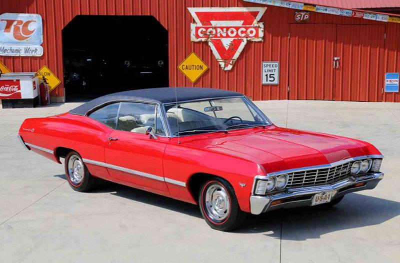 Automóviles Clásicos - Chevrolet Impala 1967