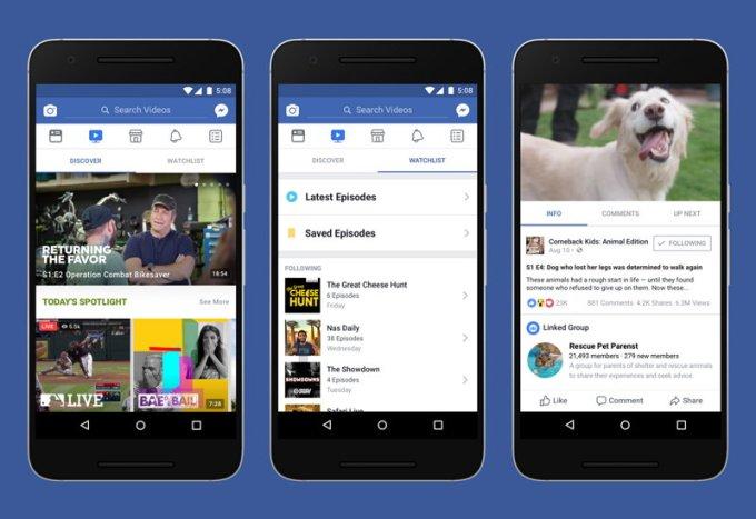 Facebook Watch - Shows - Series - Noticias