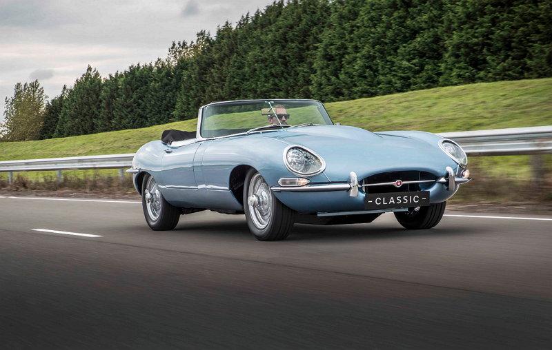 Jaguar E-Type eléctrico - Concept Zero