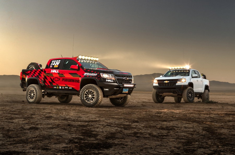 Chevrolet Colorado ZR2 Race Development Truck
