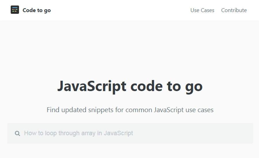 JavaScript Code to Go