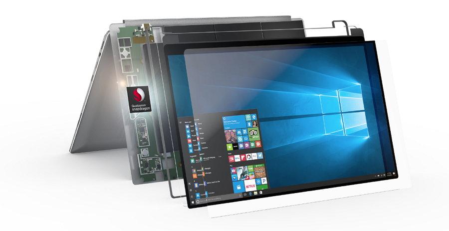 Microsoft - Qualcomm - laptops Siempre Conectadas - ARM