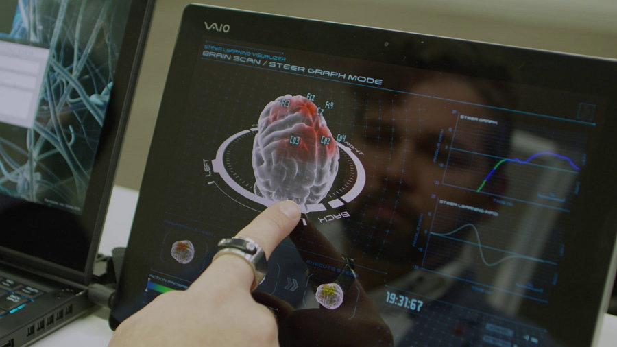 Un auto conectado a tu cerebro