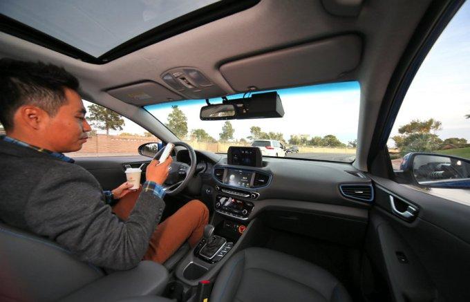Hyundai Ioniq - Vehículos Autónomos