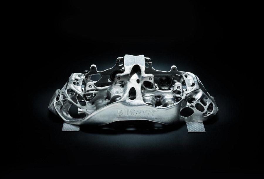 Bugatti - Pinzas de Freno de Titanio