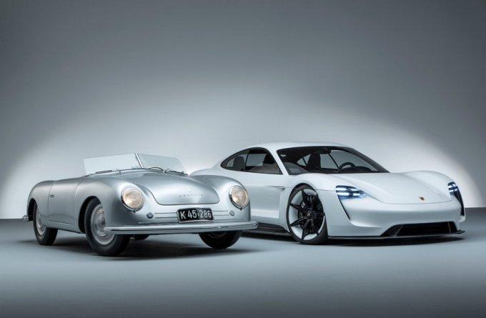 Porsche Type 356 - Porsche Mission E - Automóviles Deportivos