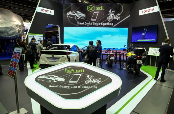 Toyota SmartDeviceLink - MWC 2018