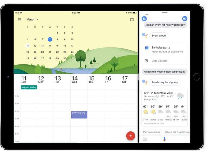 Google Assistant - iPad