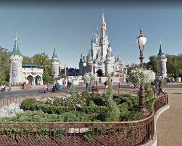 Parques de Disney - Google Street View