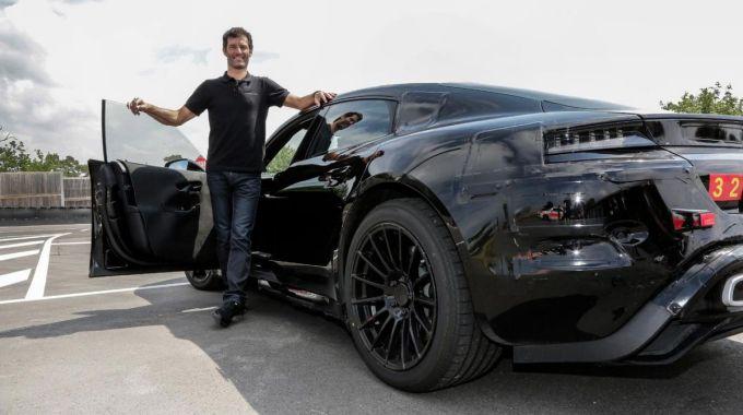 Mark Webber - Porsche Mission E