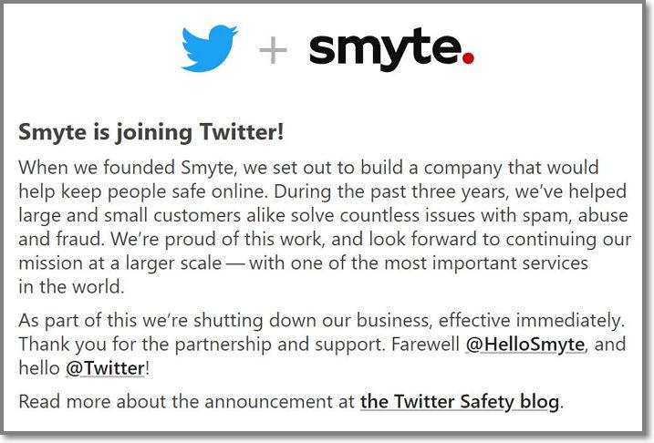 Twitter - Smyte